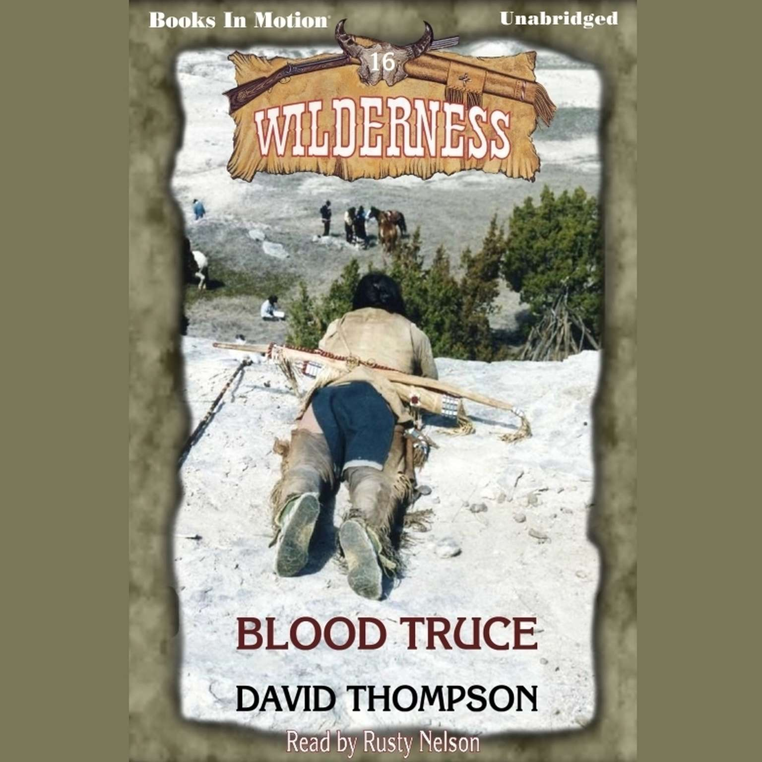 Blood Truce Audiobook, by David Thompson