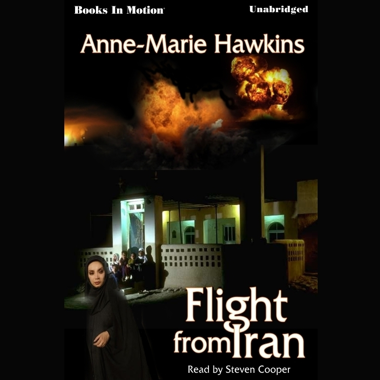 Printable Flight From Iran Audiobook Cover Art