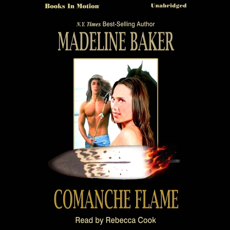 Printable Comanche Flame Audiobook Cover Art