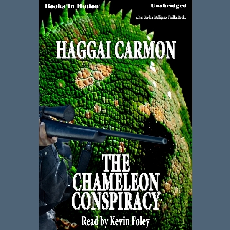 Printable The Chameleon Conspiracy Audiobook Cover Art
