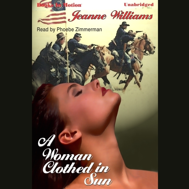 Printable A Woman Clothed In Sun Audiobook Cover Art