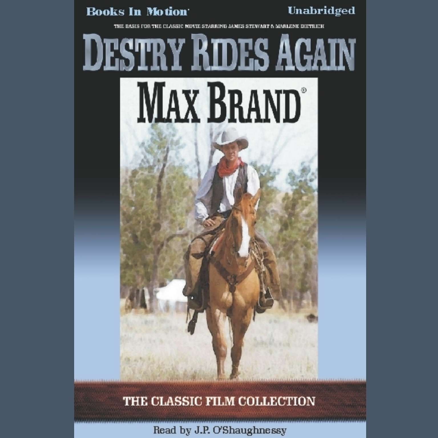 Destry Rides Again Audiobook, by Max Brand