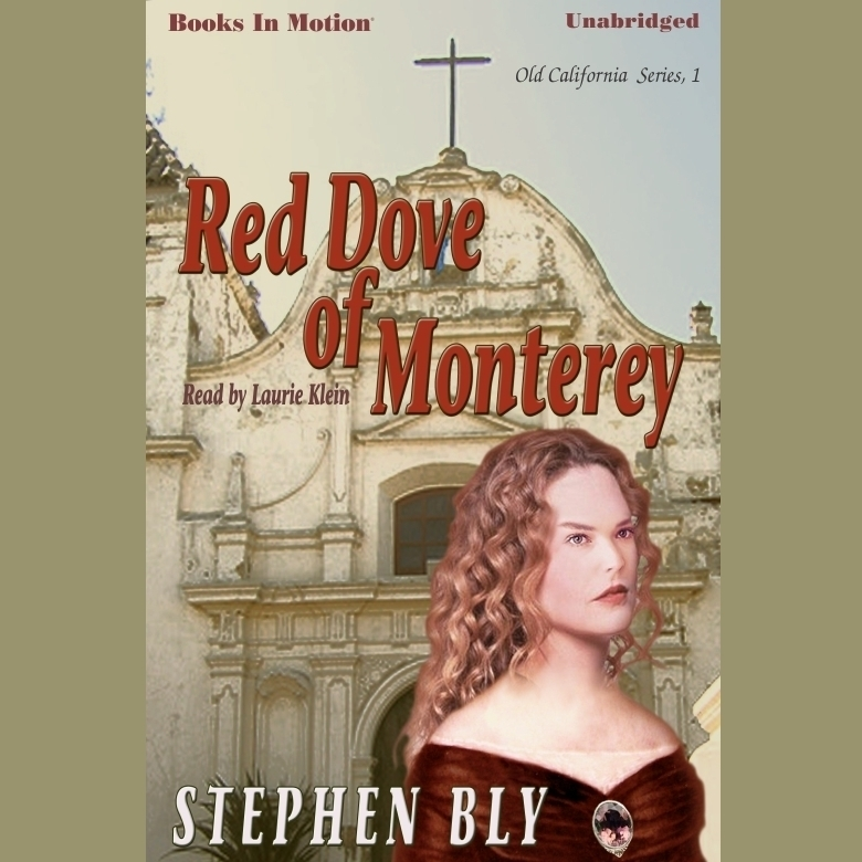 Printable Red Dove Of Monterey Audiobook Cover Art