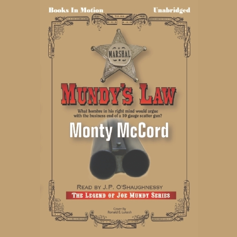 Printable Mundy's Law Audiobook Cover Art