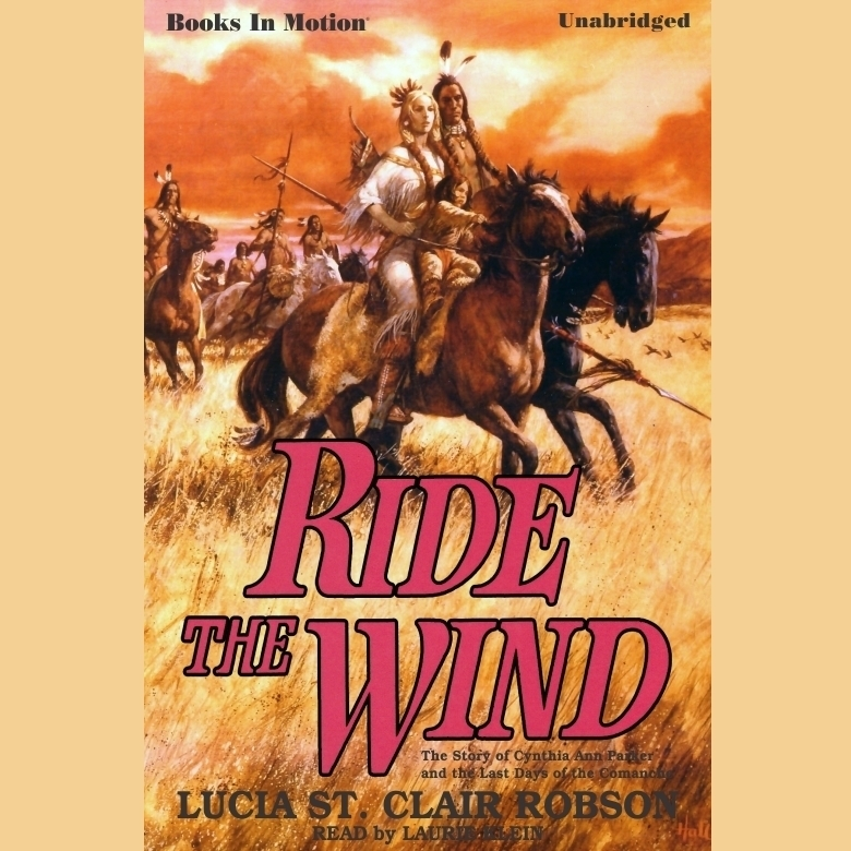 Printable Ride The Wind Audiobook Cover Art