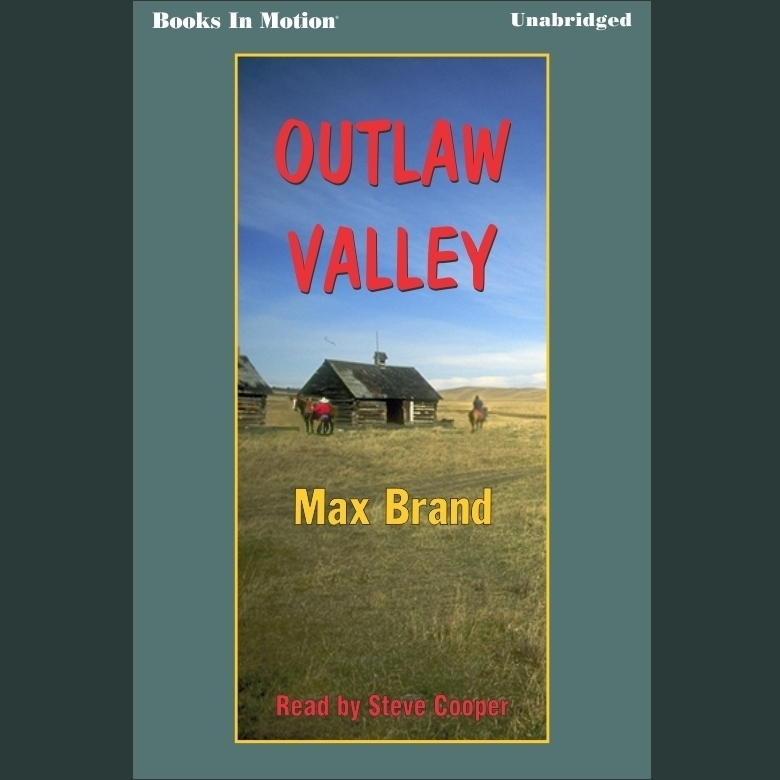 Printable Outlaw Valley Audiobook Cover Art