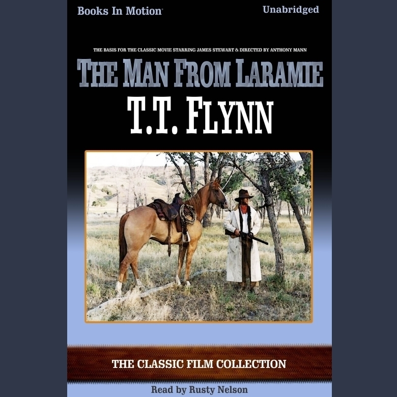 Printable The Man From Laramie Audiobook Cover Art