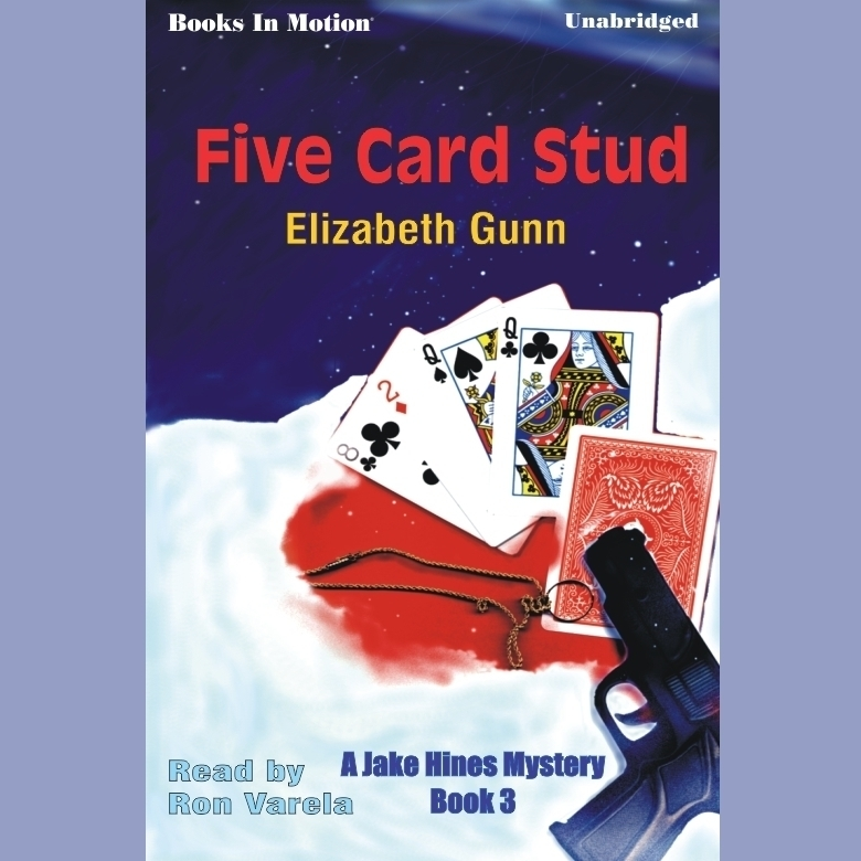 Printable Five Card Stud Audiobook Cover Art