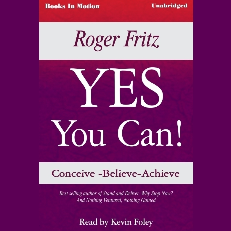 Printable Yes You Can Audiobook Cover Art