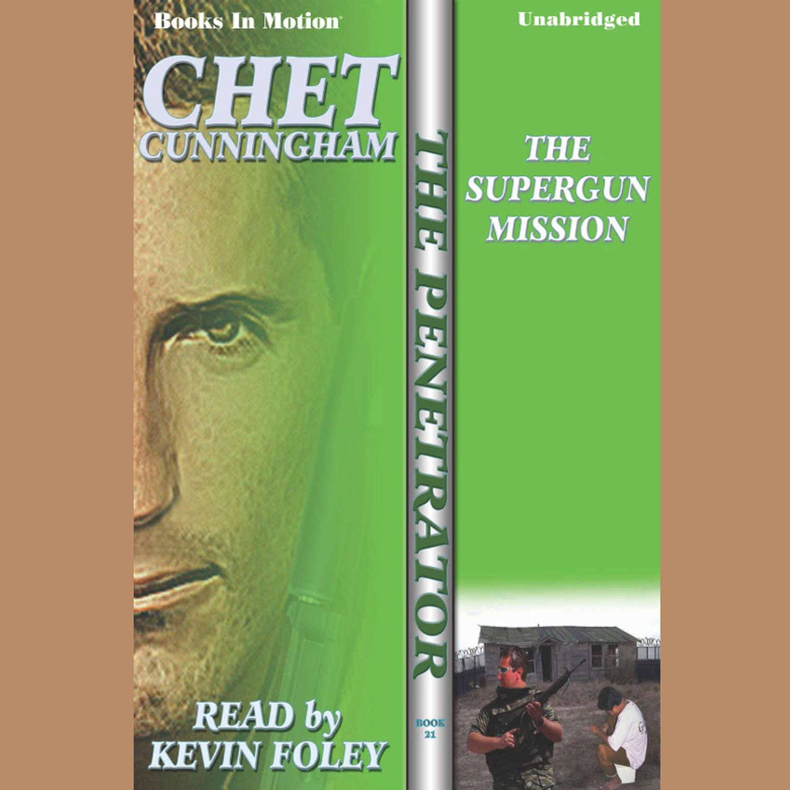 The Supergun Mission Audiobook, by Chet Cunningham