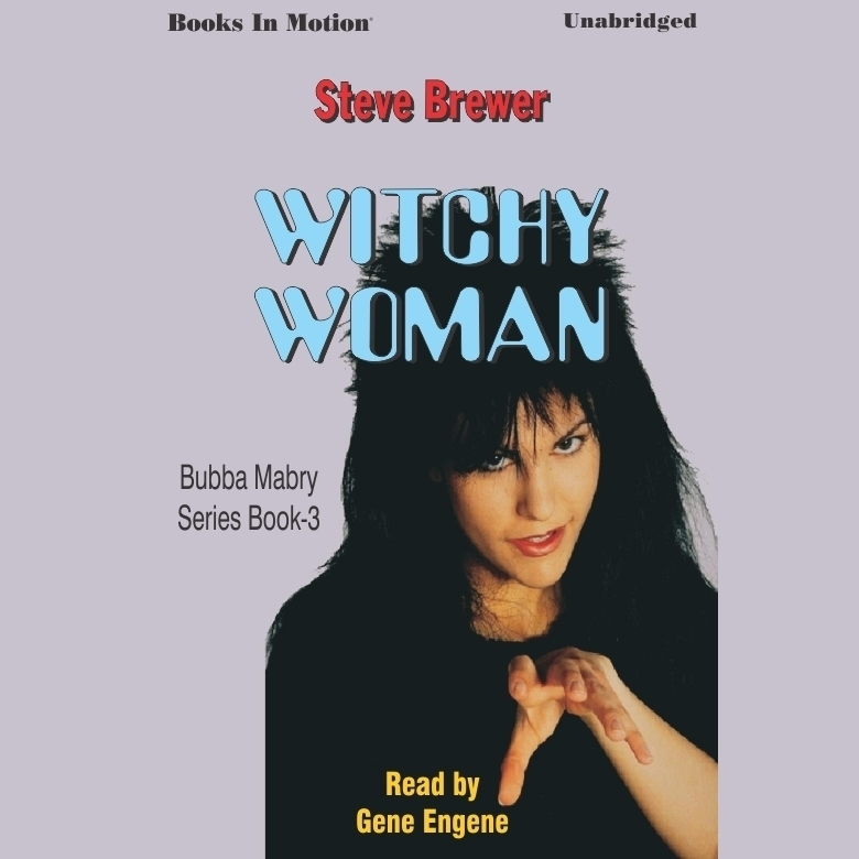 Printable Witchy Woman Audiobook Cover Art
