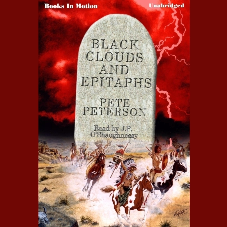 Printable Black Clouds And Epitaphs Audiobook Cover Art
