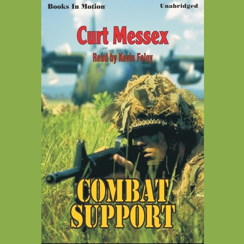 Printable Combat Support Audiobook Cover Art
