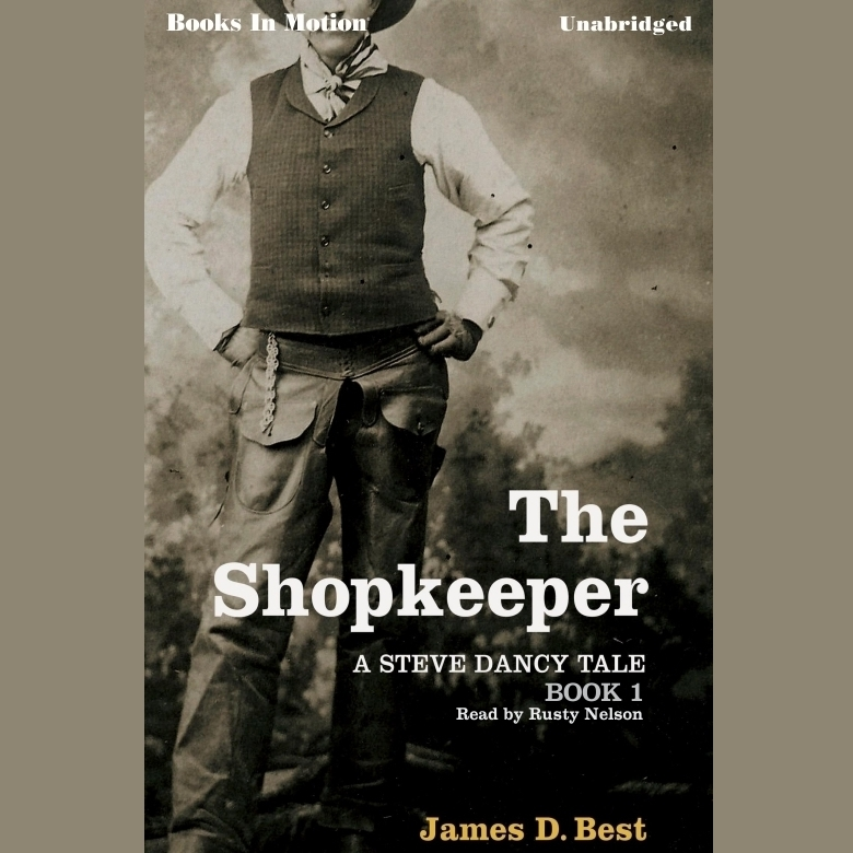 Printable The Shopkeeper Audiobook Cover Art