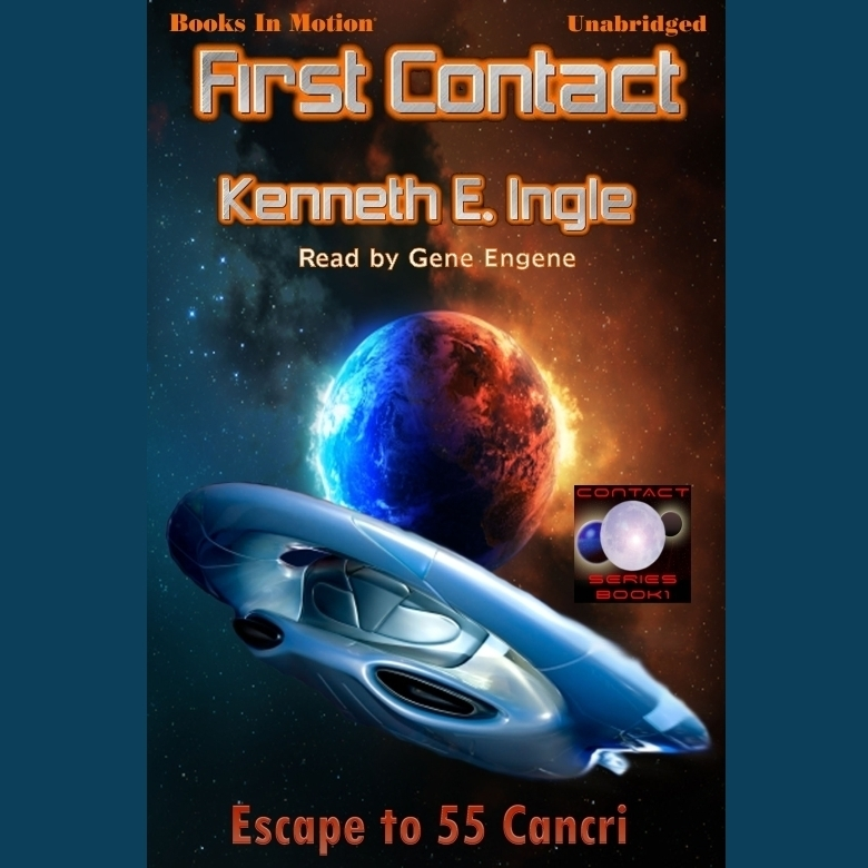 Printable First Contact Audiobook Cover Art