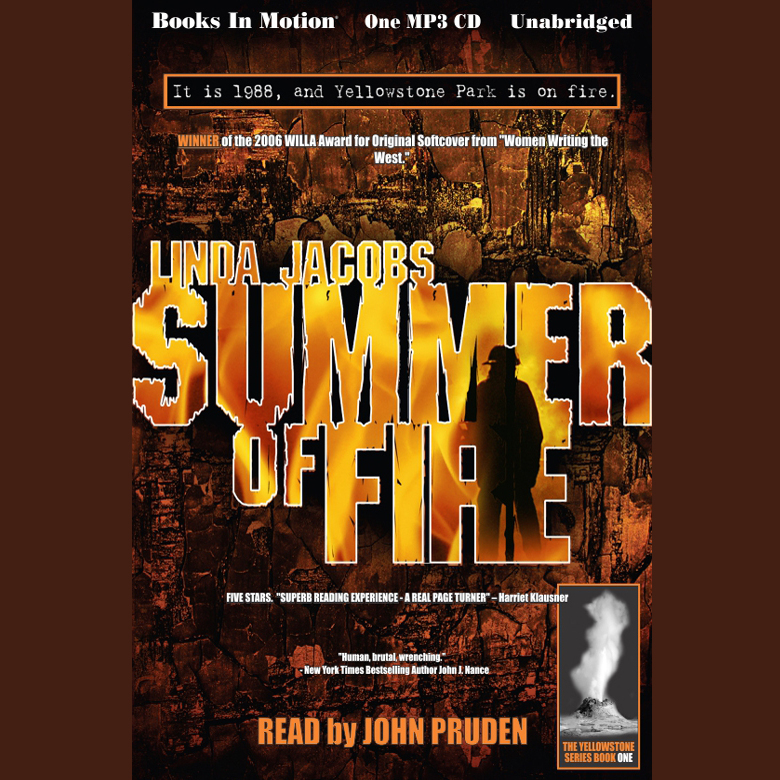 Printable Summer Of Fire Audiobook Cover Art