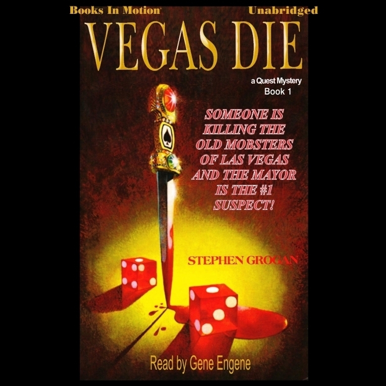 Printable Vegas Die Audiobook Cover Art