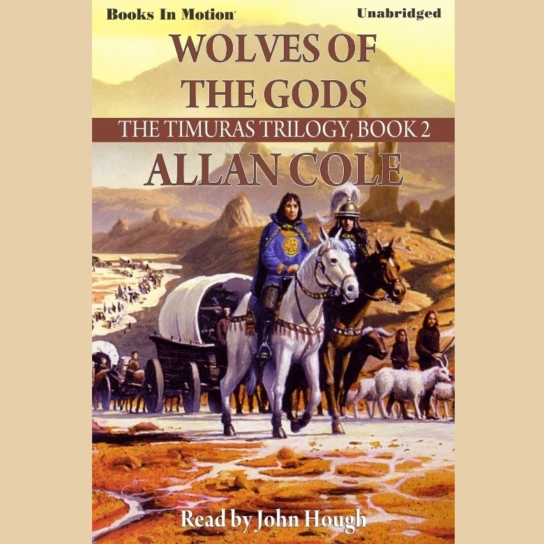 Printable Wolves Of The Gods Audiobook Cover Art
