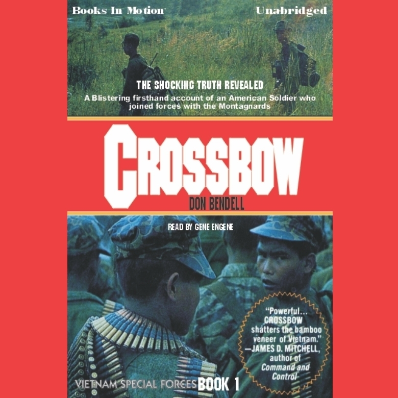 Printable Crossbow Audiobook Cover Art