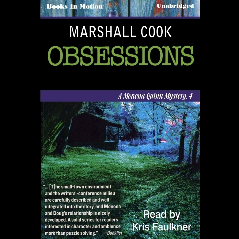 Printable Obsessions Audiobook Cover Art
