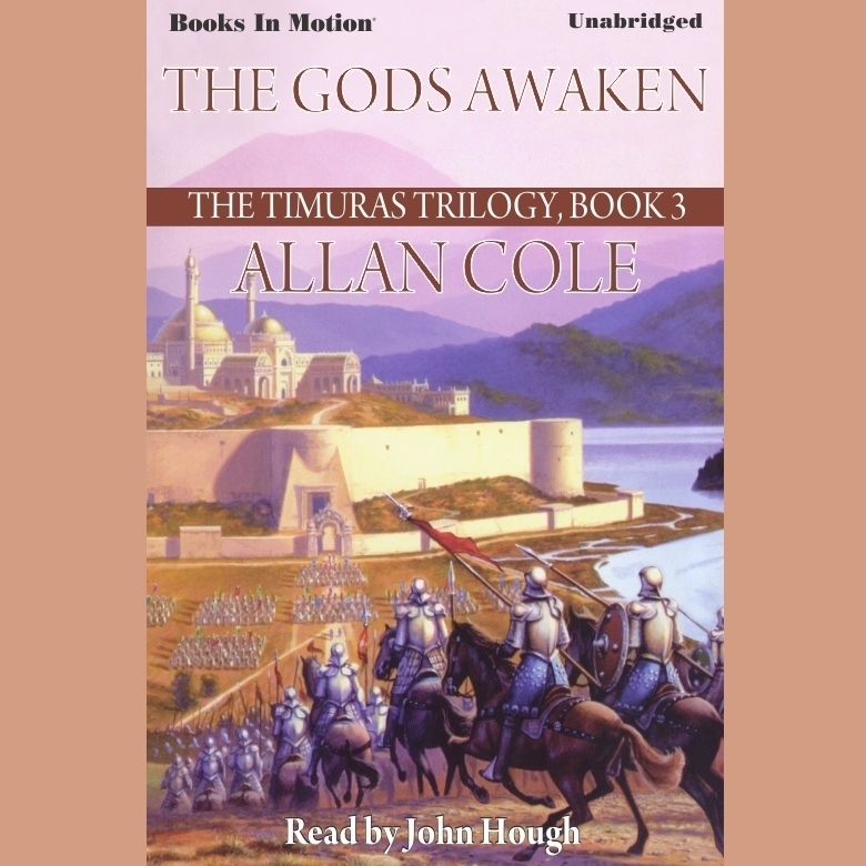Printable The Gods Awaken Audiobook Cover Art
