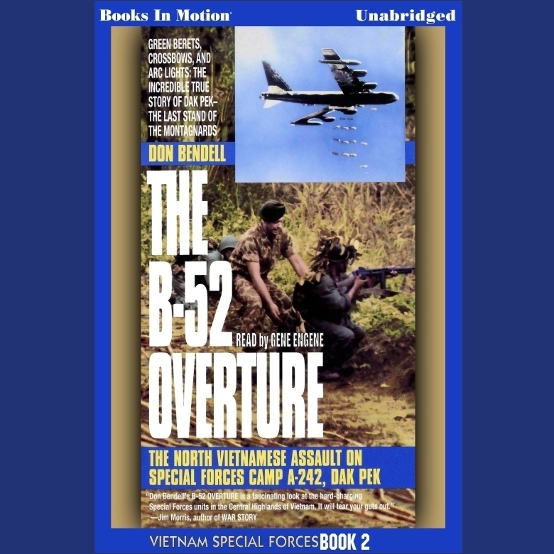 Printable The B-52 Overture Audiobook Cover Art