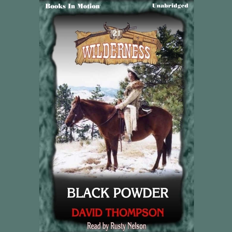 Printable Black Powder Audiobook Cover Art
