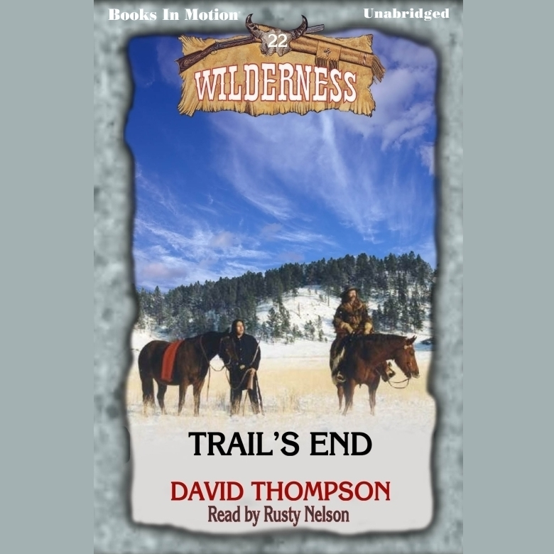 Printable Trail's End Audiobook Cover Art
