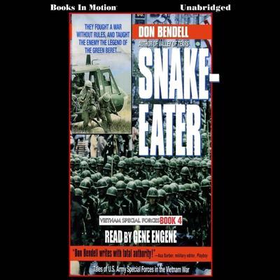 Snake Eater Audiobook, by Don Bendell
