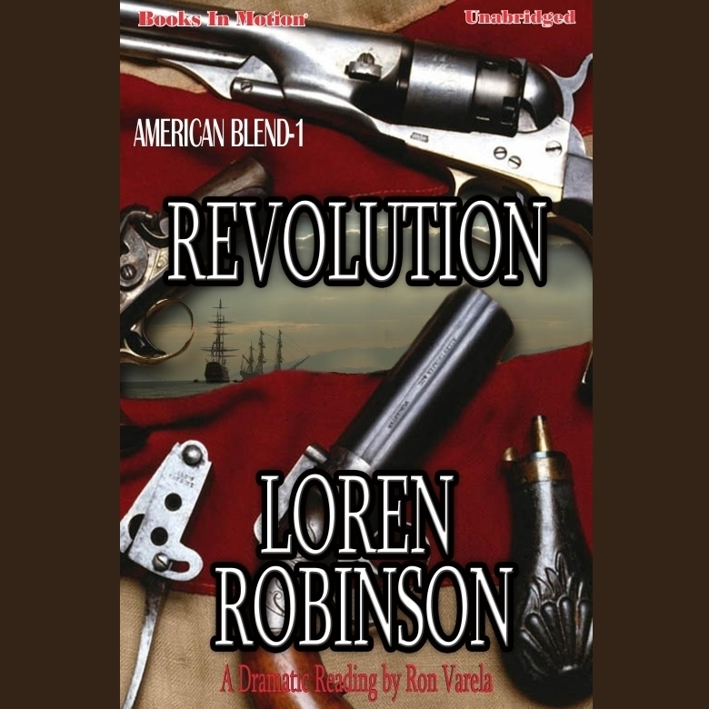 Printable Revolution Audiobook Cover Art
