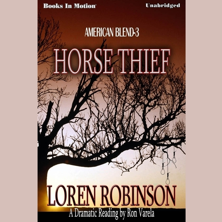 Printable Horse Thief Audiobook Cover Art