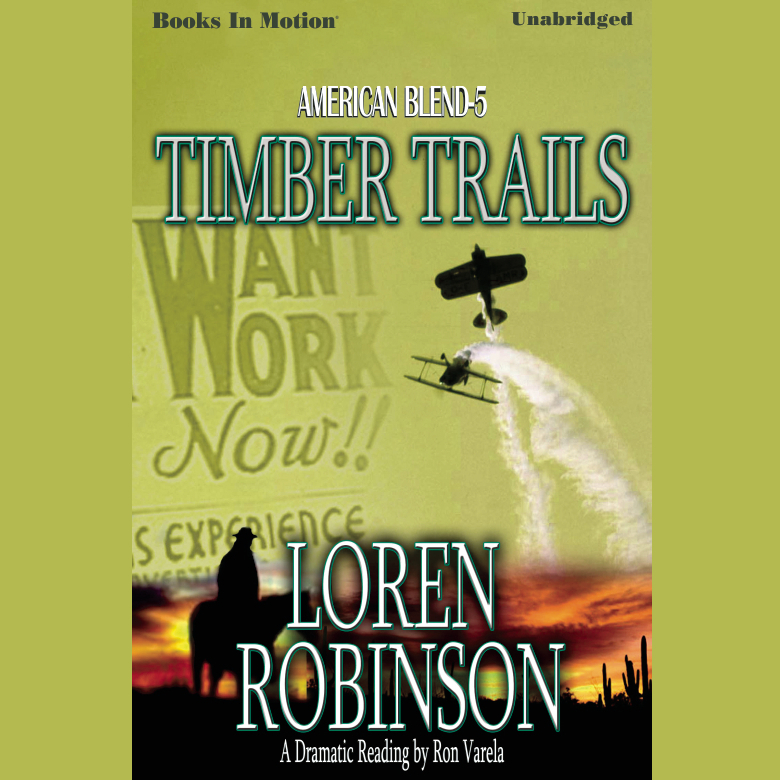 Printable Timber Trails Audiobook Cover Art