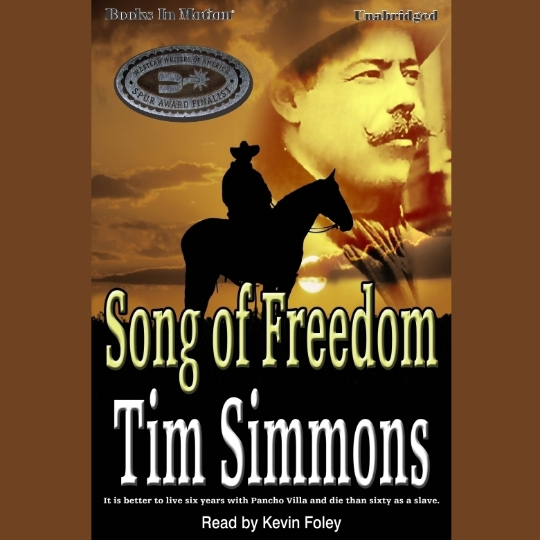 Printable Song of Freedom Audiobook Cover Art