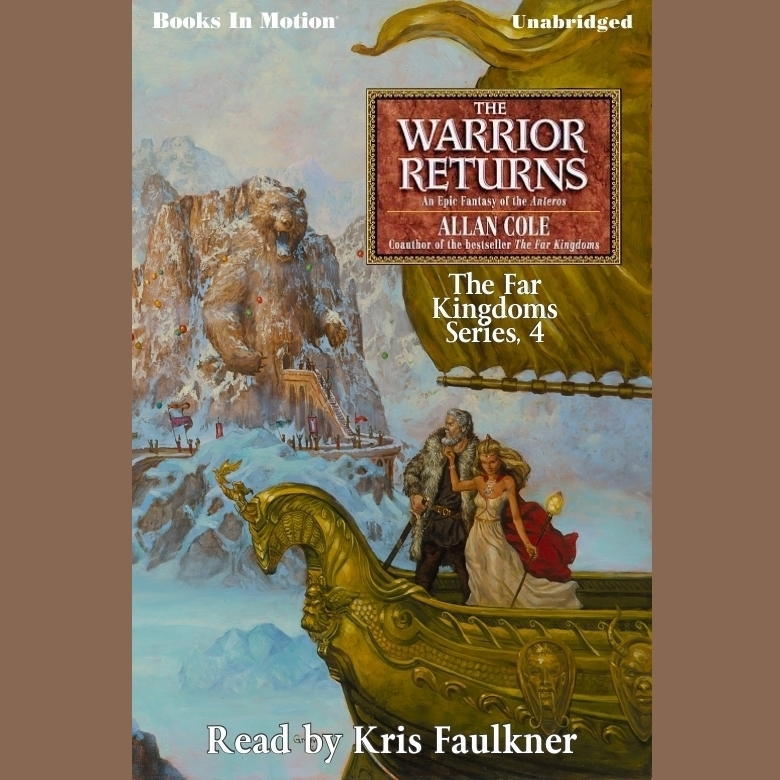Printable The Warrior Returns Audiobook Cover Art