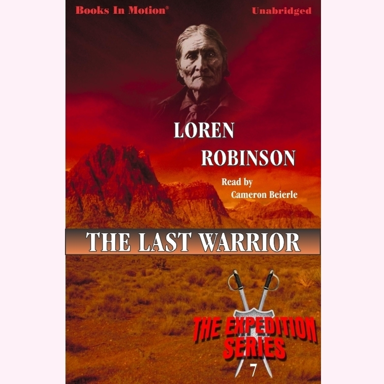 Printable The Last Warrior Audiobook Cover Art
