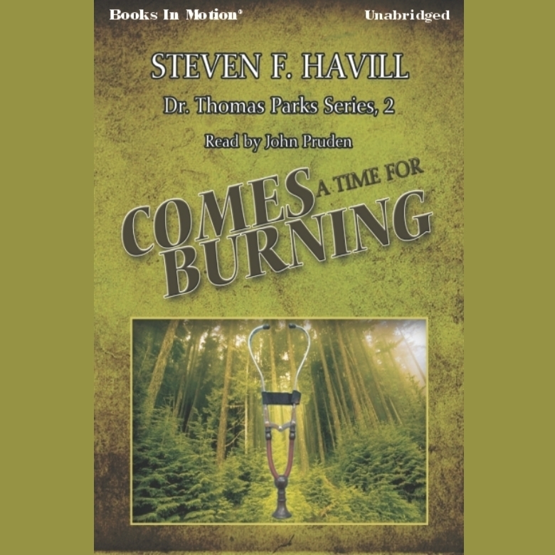 Printable Comes a Time for Burning Audiobook Cover Art