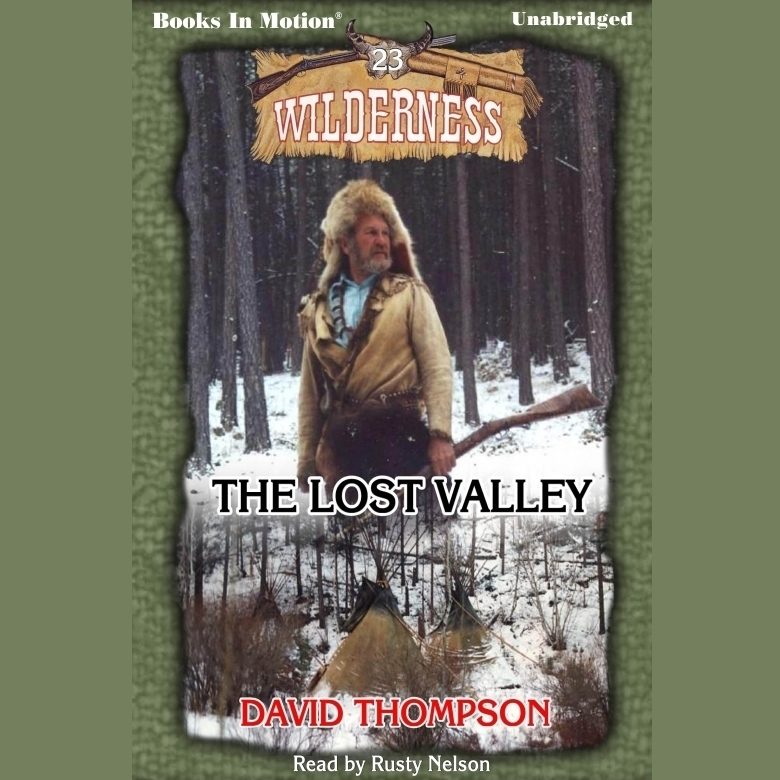 Printable The Lost Valley Audiobook Cover Art