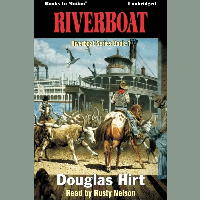 Printable Riverboat Audiobook Cover Art