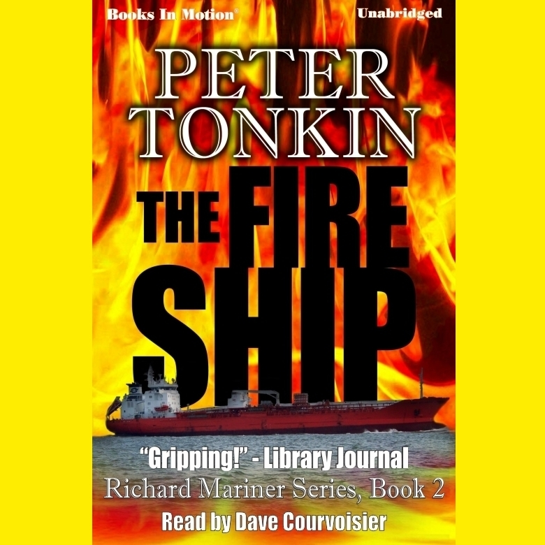 Printable The Fire Ship Audiobook Cover Art