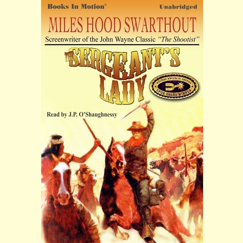 Printable The Sergeant's Lady Audiobook Cover Art