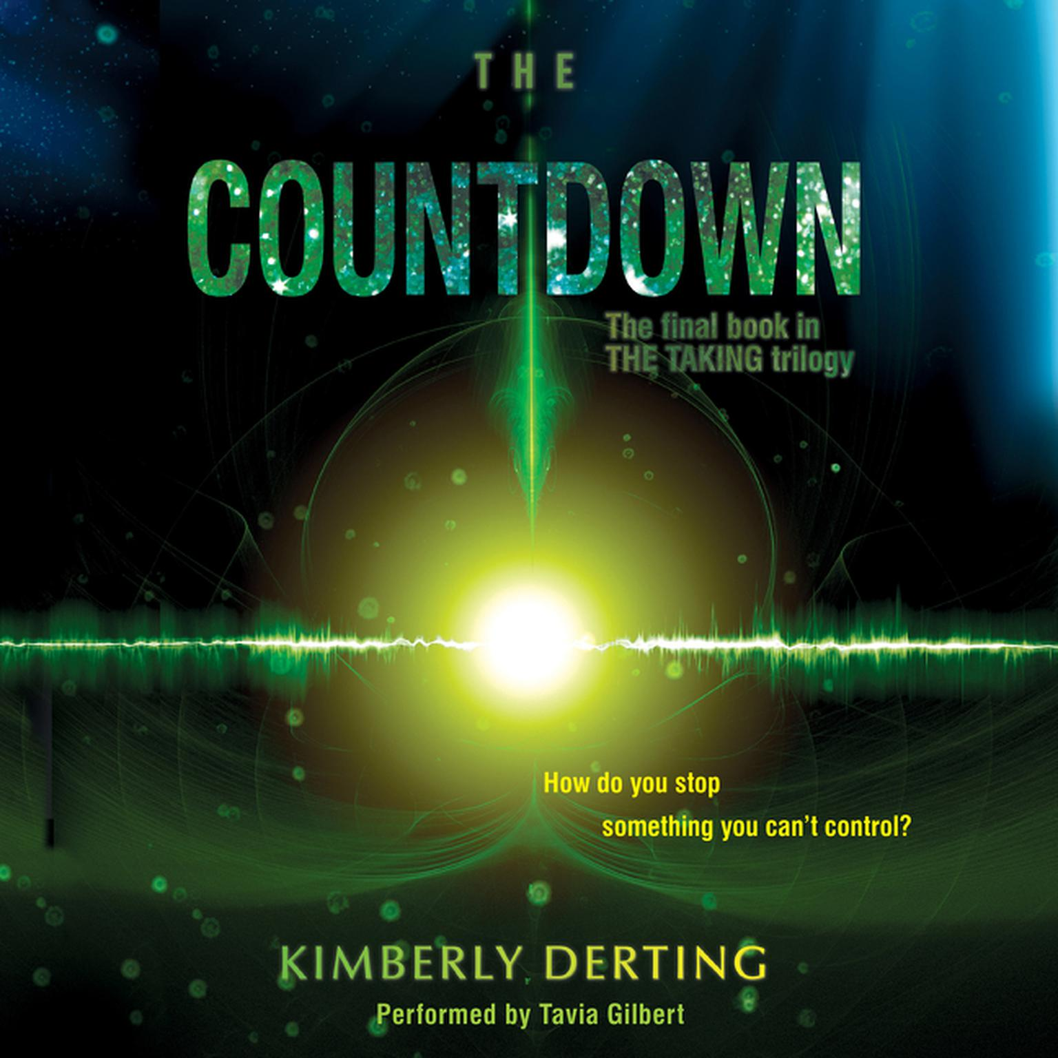 Printable The Countdown Audiobook Cover Art