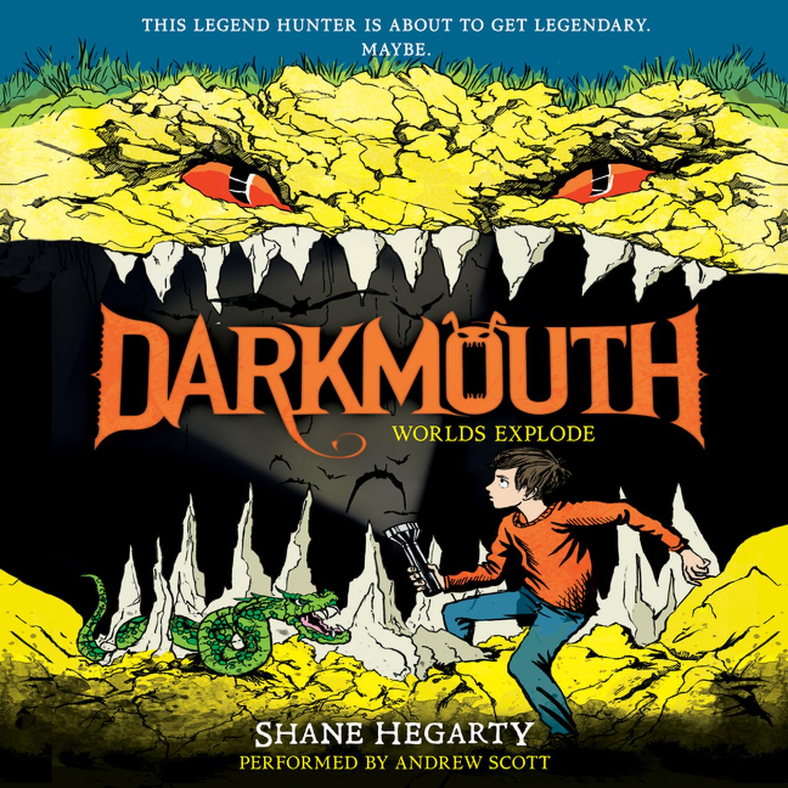 Printable Darkmouth: Worlds Explode Audiobook Cover Art