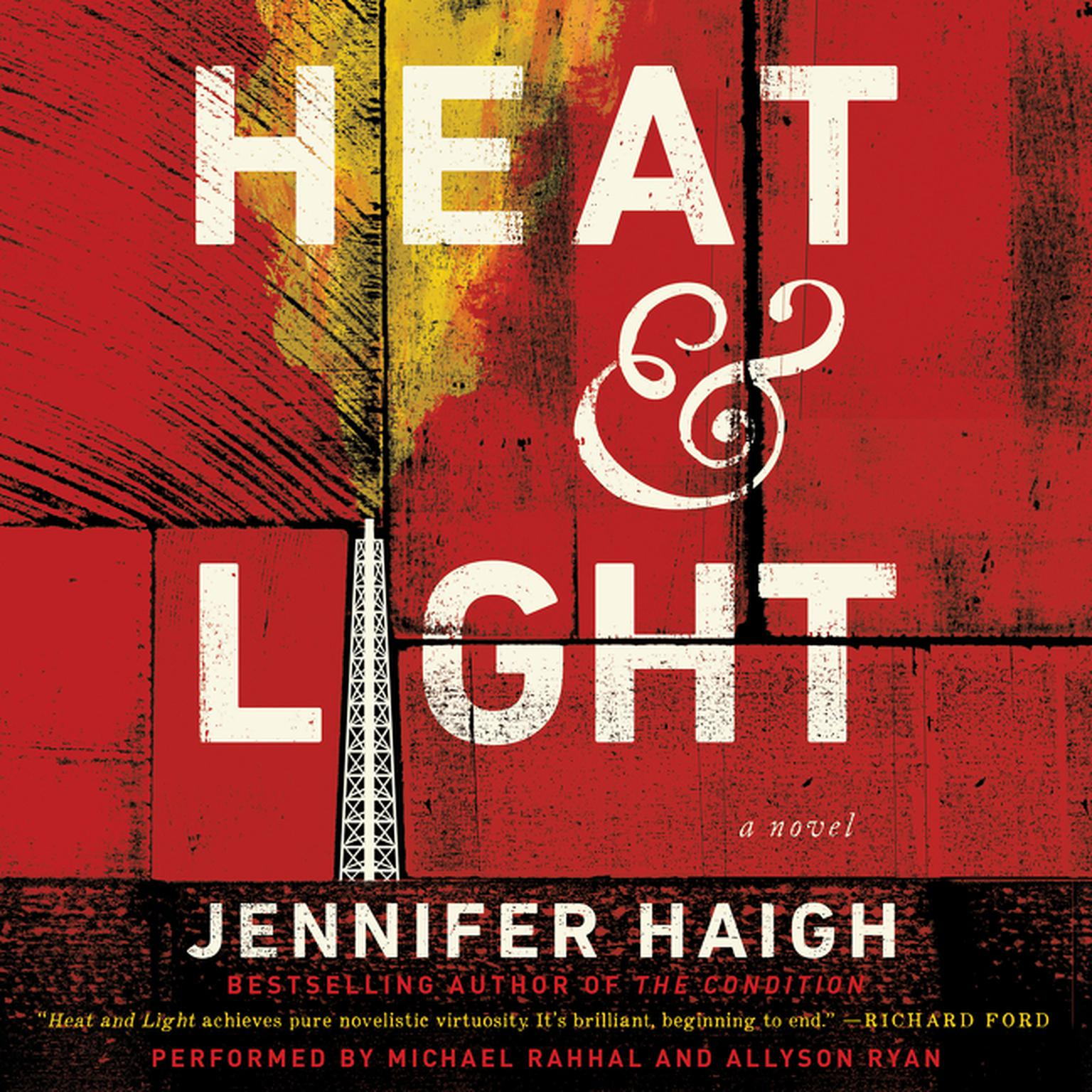 Printable Heat and Light: A Novel Audiobook Cover Art