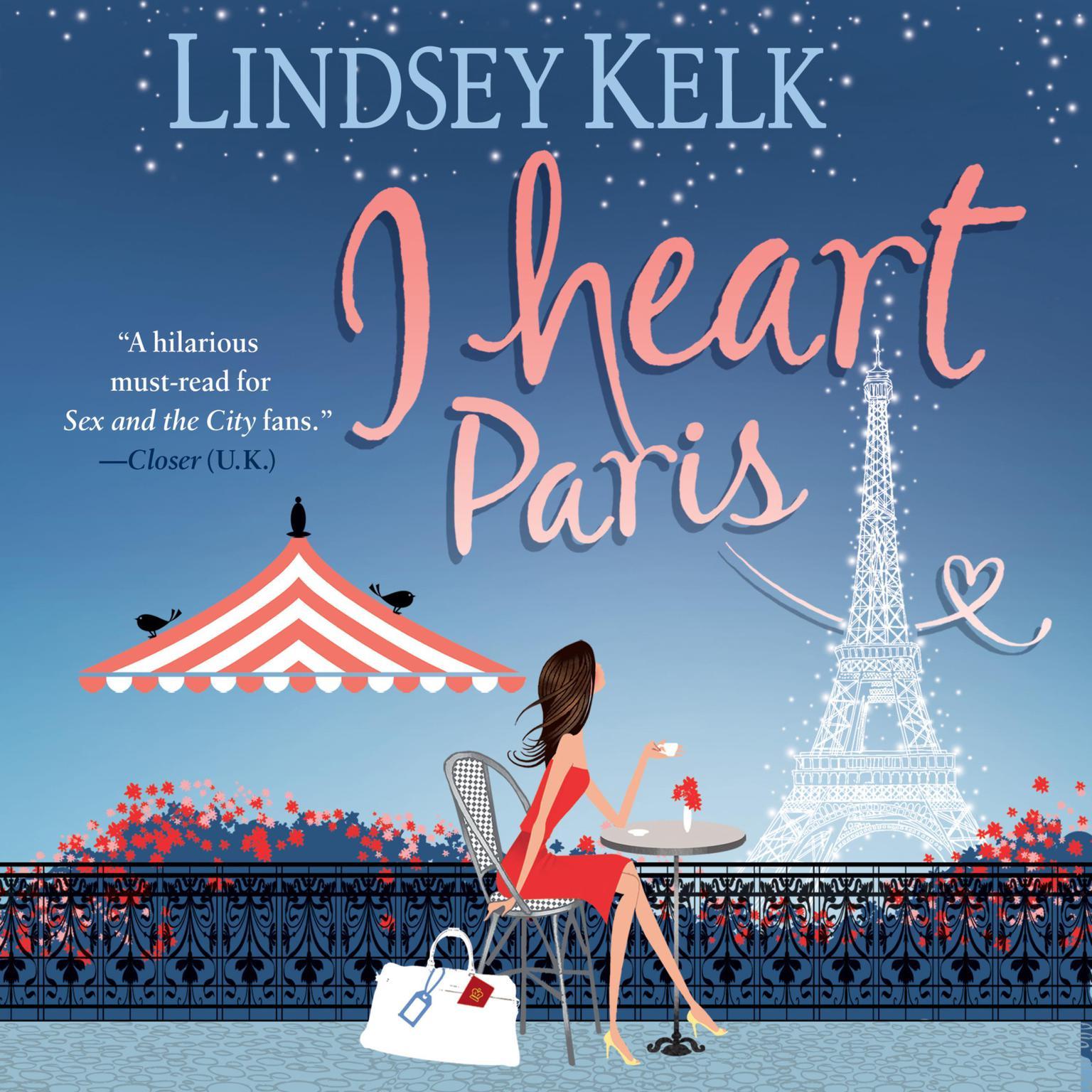 Printable I Heart Paris: A Novel Audiobook Cover Art
