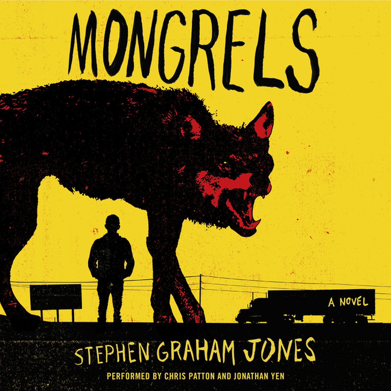 Printable Mongrels: A Novel Audiobook Cover Art