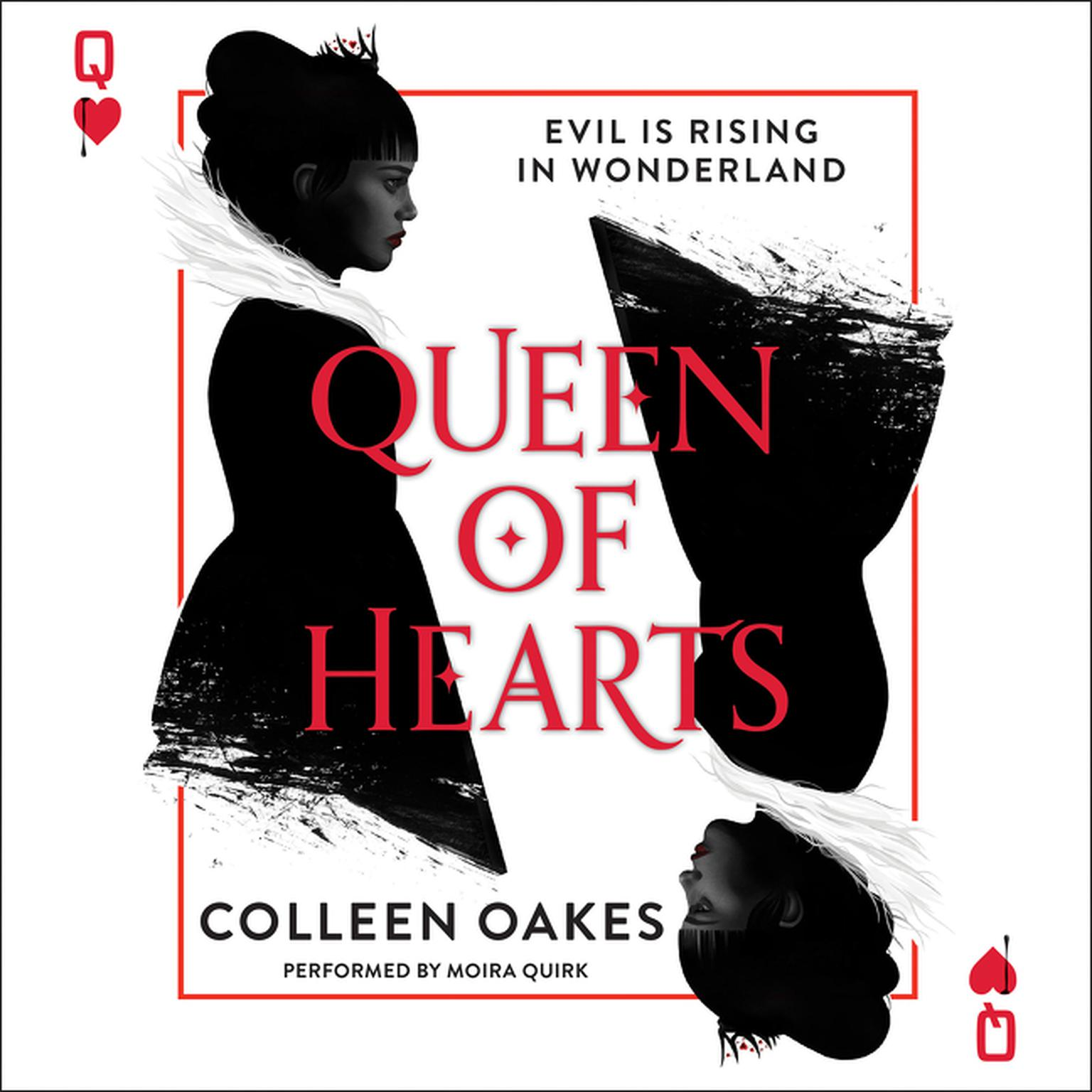 Printable Queen of Hearts Audiobook Cover Art