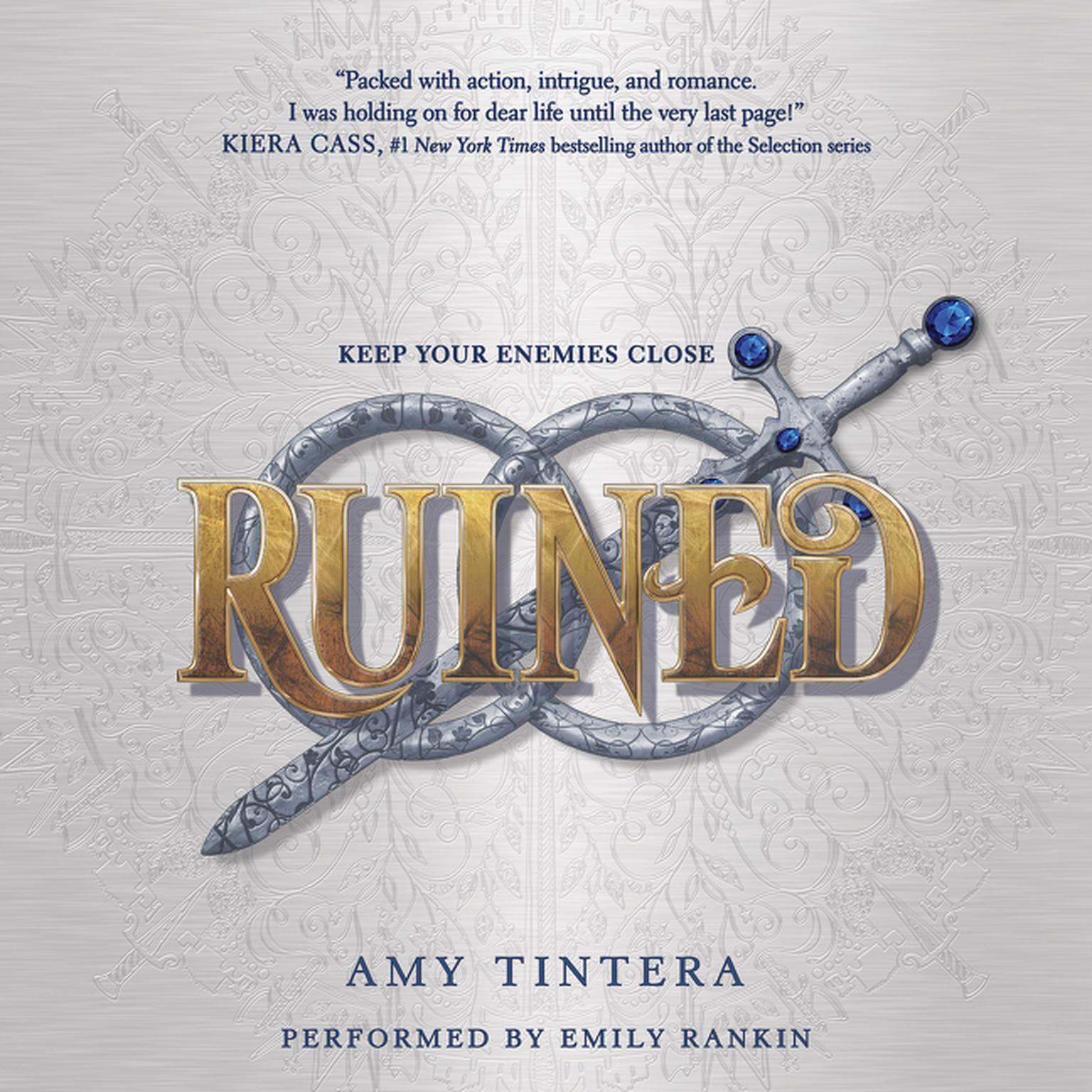 Printable Ruined Audiobook Cover Art