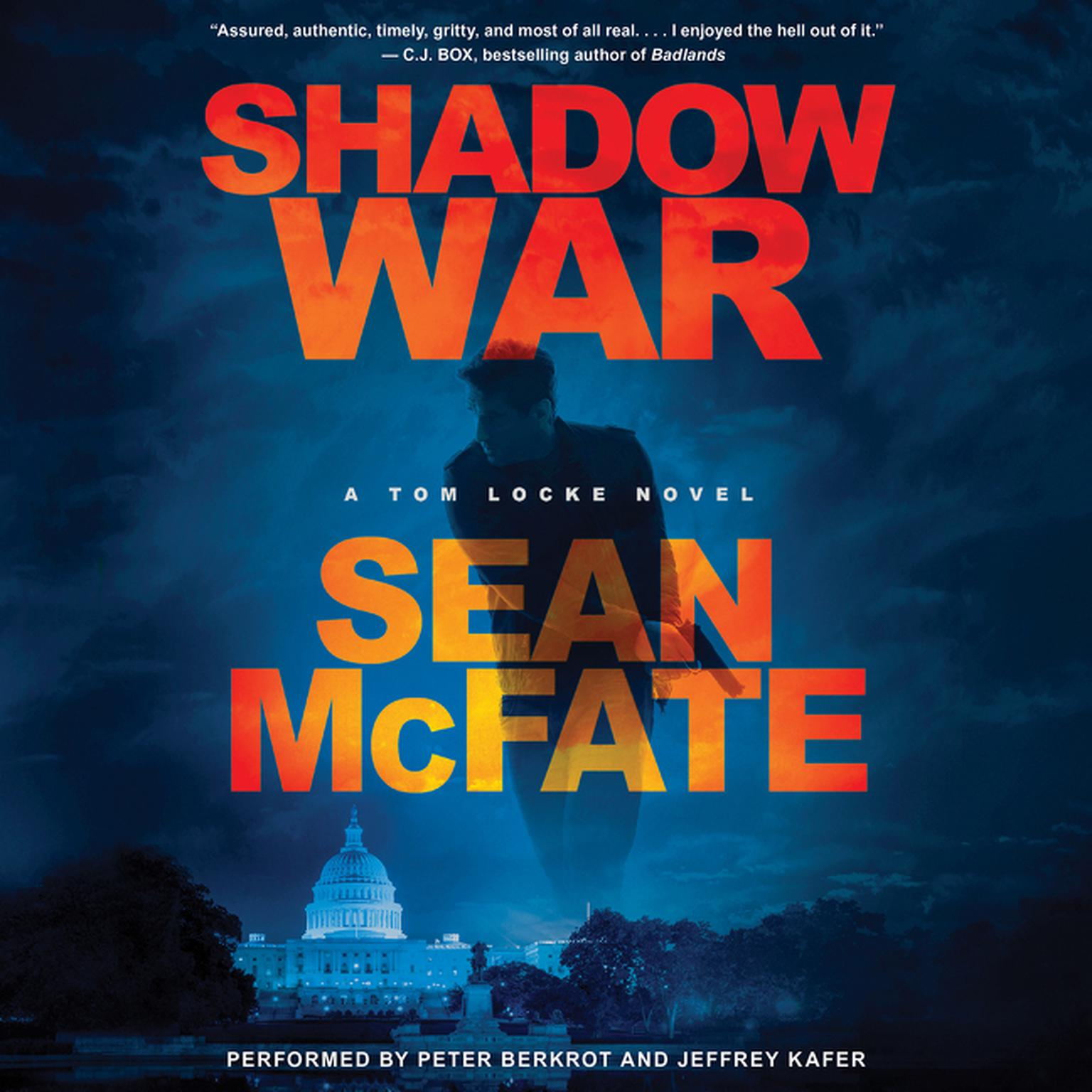 Printable Shadow War: A Tom Locke Novel Audiobook Cover Art
