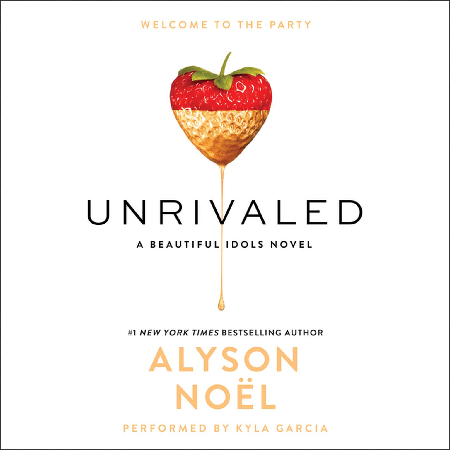 Printable Unrivaled Audiobook Cover Art