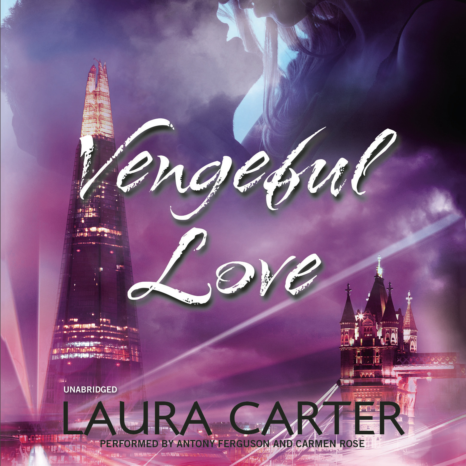 Printable Vengeful Love Audiobook Cover Art